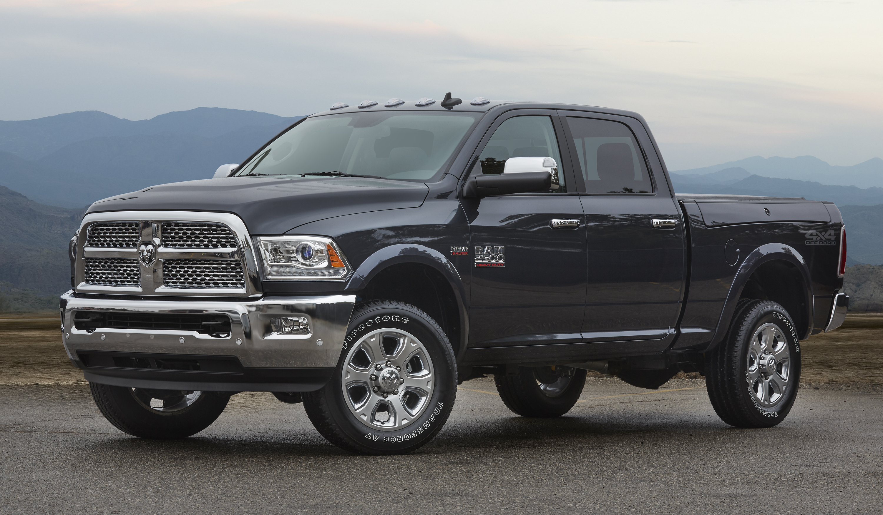 Ram 2500 Crew Cab with 4x4 Off-road package
