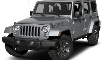 2018 Wrangler unlimited rubicon full